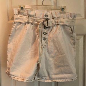NWOT Free People Cindy Utility Shorts - Sz 6